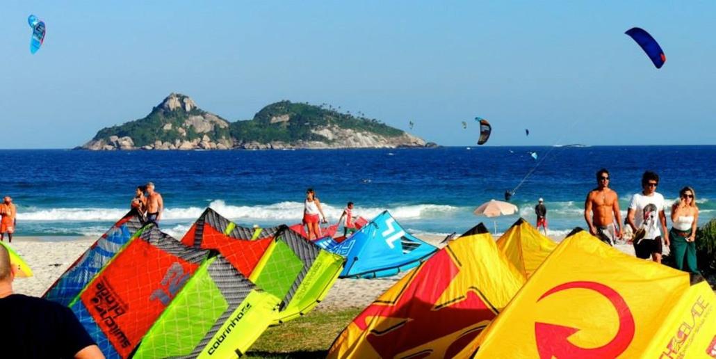 Kitesurfing Brazil Barra da Tijuca