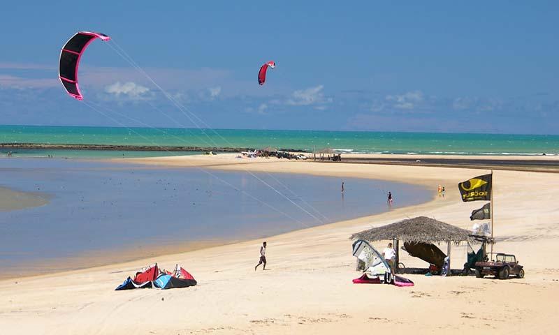 Kitesurfing Brazil São Miguel do Gostoso