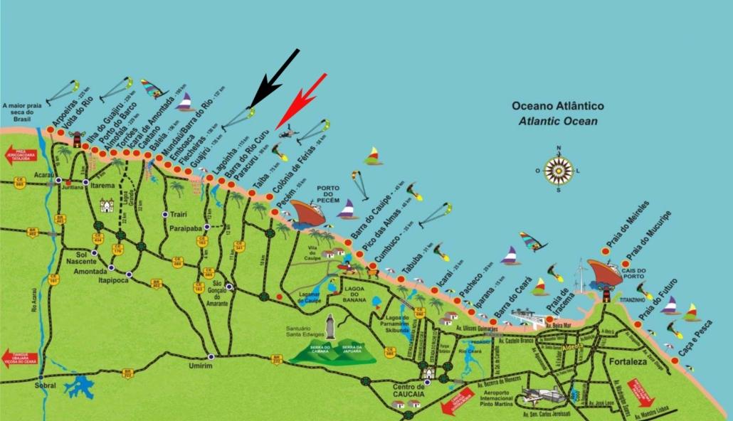 Kitesurfng Brazil Fortaleza